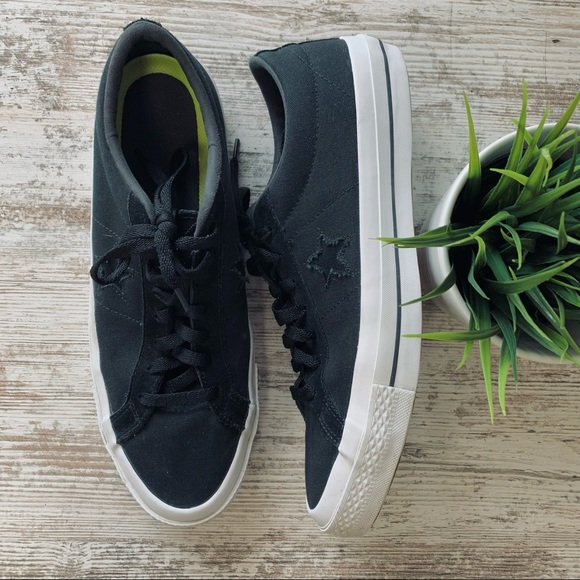 CONVERSE CONS One Star Canvas Ox Black Sneakers 11